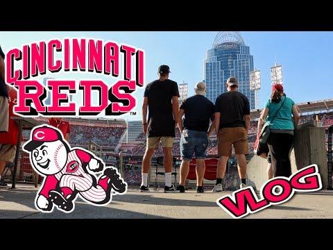 Cincinnati Reds Travel VLOG