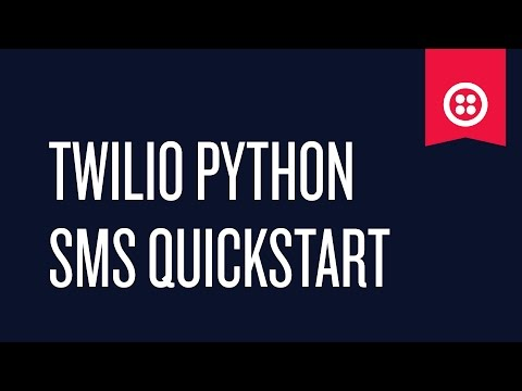 How to Send and Receive SMS Using Python - YouTube