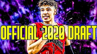 OFFICIAL 2020 NBA DRAFT BIG BOARD?!?!