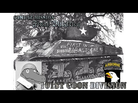 Combat Mission: Final Blitzkrieg - 101st goon Division Battle 2 Turn 7  