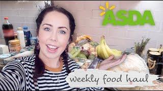 Asda Food Haul   Shop | Weekly Food Shop On A Budget