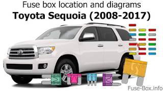 Fuse box location and diagrams: Toyota Sequoia (2008-2017) - YouTubeYouTube