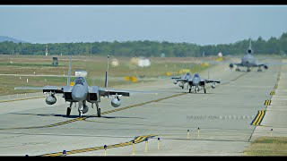 Pease Airport - ANG F-15 Eagles, USAF KC-10 Extenders and More!