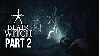 Blair Witch Gameplay Walkthrough Part 2 - BUNKER KEY & CAR PUZZLE