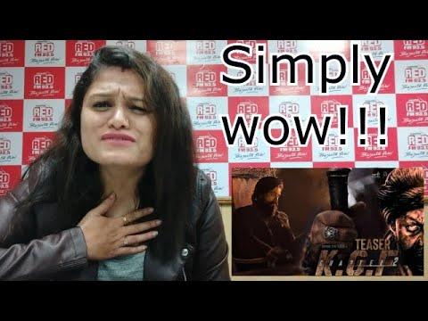 Download KGF Chapter2 TEASER Hindi Review |Yash|Sanjay| Raveena |Prashanth Neel | @RJ Ekansha  @Hombale Films