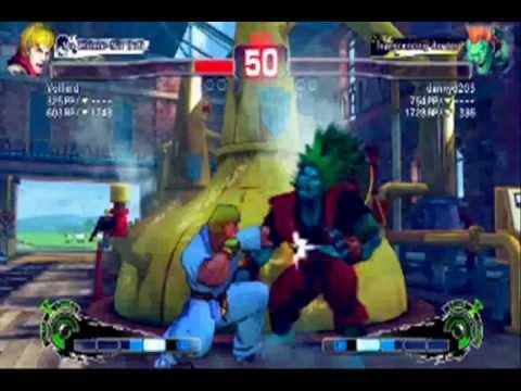 Street Fighter IV Ken Vs. Blanka PC