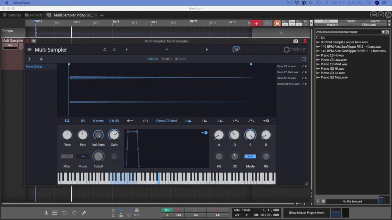 01 Introduction to Waveform Multi Sampler