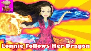 Lonnie Follows Her Dragons  Part 1 The Curse of Black Dragon Descendants Disney