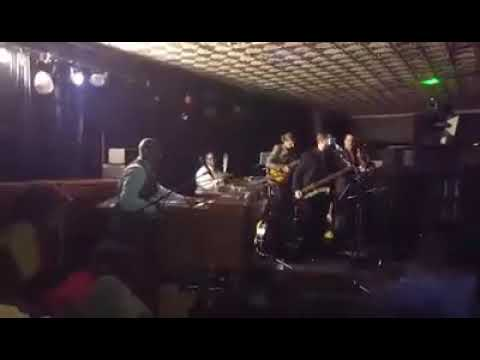 Jeremy Thomas Quartet Playing Christmas in Harlem Party December 2015, in OKC