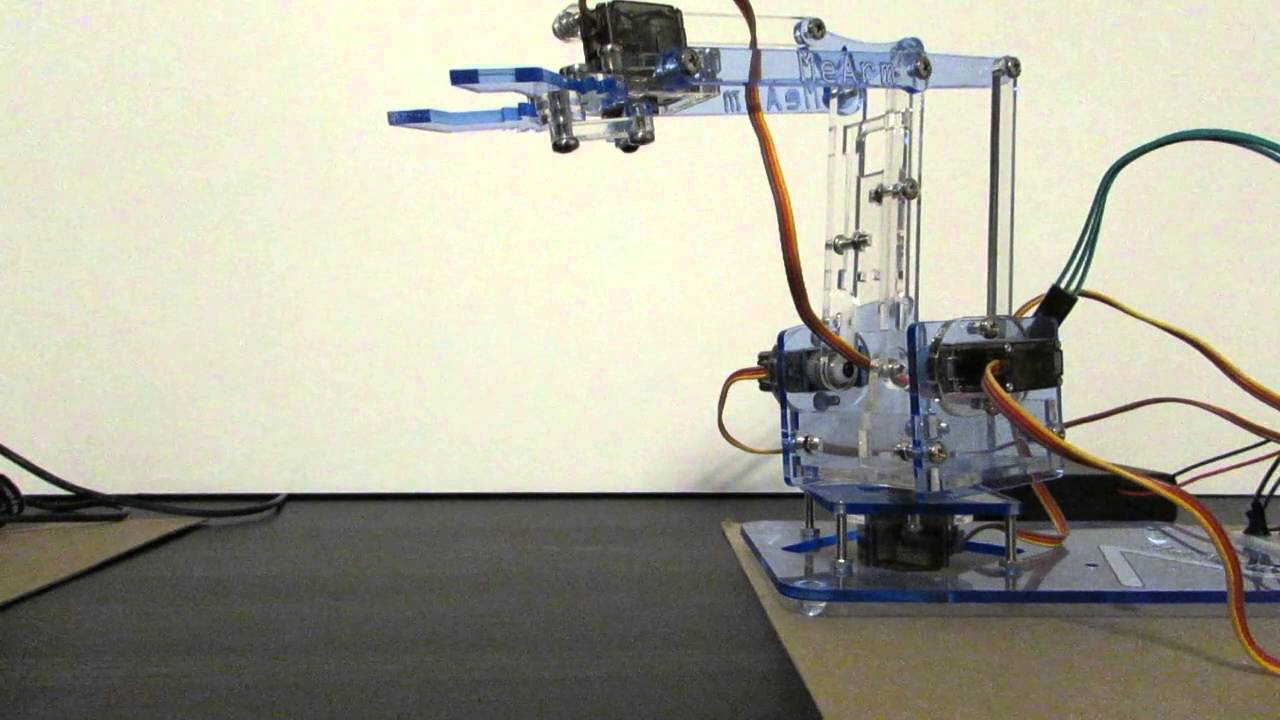 Buster - Voice Controlled Robotic Arm
