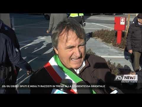 20/01/2020 | SPUTI E INSULTI RAZZISTI IN TRENO ALL...