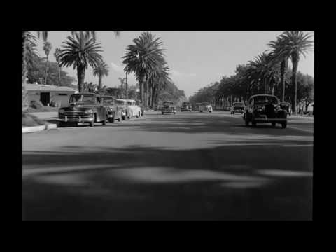 Traveling on Ocean Avenue & Second Street, Santa Monica, 1952