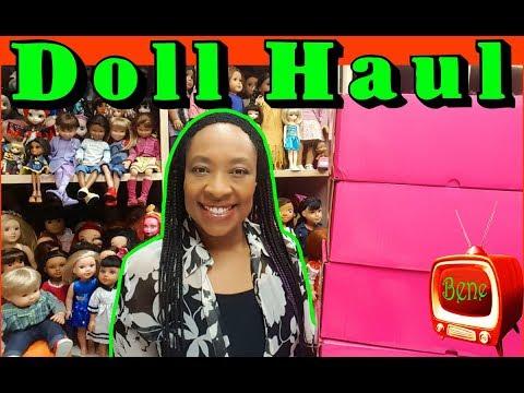 DOLL HAUL: Marie Osmond Adora Belle, Heidi Ott doll, American Girl doll body