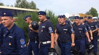 المجر تبدأ اليوم بإغلاق الحدود بشكل جدي 15-9-2015