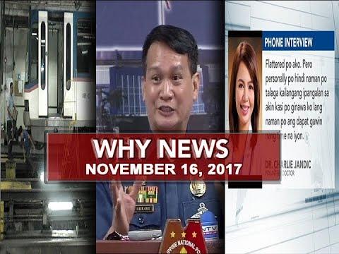 UNTV: Why News (November 16, 2017)