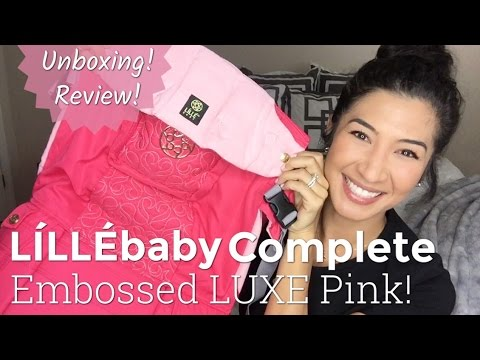 56c786b2753 LILLEbaby Complete Unboxing and Review  Embossed LUXE Pink! - YouTube