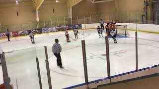 Western AAA Bantam Females first Game Period 3 Oct 2017