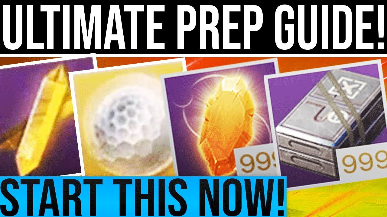 Destiny 2 Shadowkeep  ULTIMATE PREP GUIDE! Everything You Should Do Leading  Up To Shadowkeep