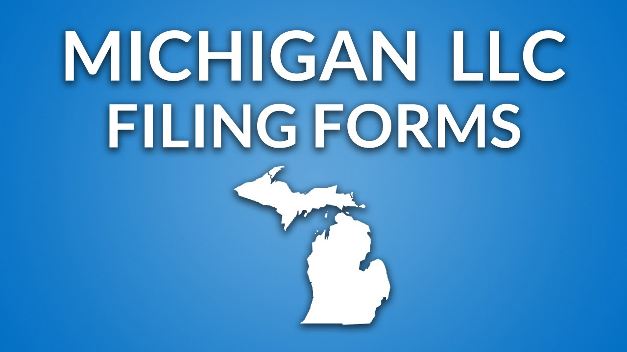 Michigan LLC - Formation Documents - YouTube