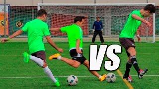Tiros de falta free kick challenge - retos de fútbol