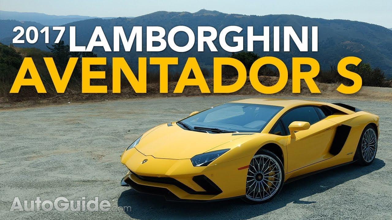 2017 Lamborghini Aventador S Review Youtube