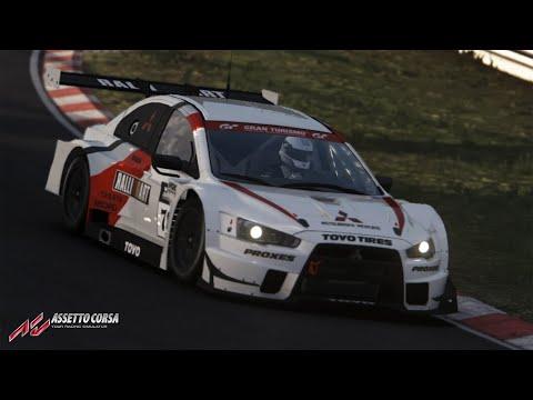 Assetto Corsa   Mitsubishi Evolution FE Time Attack Test Run |