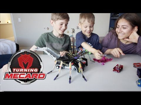 Download Youtube: Turning Mecard Mecanimals   Stop Motion Battle, Practice Battle and First Impression