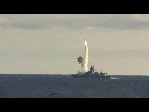 """В разных точках России прошли запуски баллистических ракет в рамках учений """"Гром - 2019""""."""