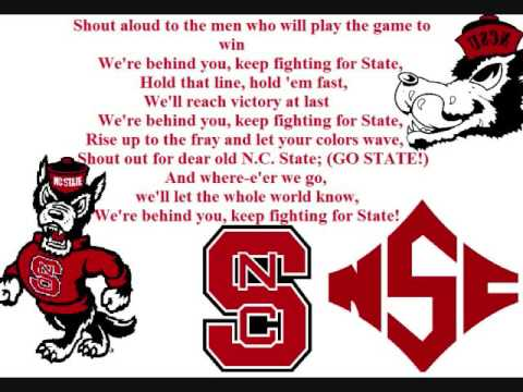 NC State Fight Song (New Clear Version)