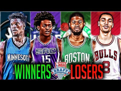 Winners and Losers of the 2017 NBA Draft