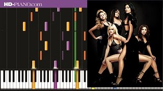 How to play Pussycat dolls Sway   Piano tutotial  100% speed
