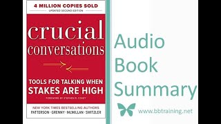 Crucial Conversations - Tools for Talking when Stakes are High- Audio Book  Summary