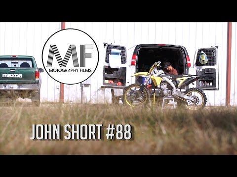 John Short Supercross Training at Compound 77
