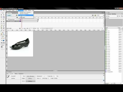 Lesson 03 - How to create a 360/3D animation in Flash