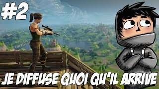 FORTNITE BR: Quoi qu'il arrive je diffuse la game ! #2
