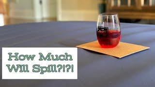 Wine Glass Test on an Air Mattress?!?!