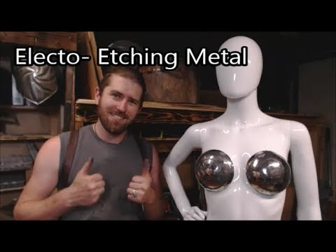Electro Etching Metal- How to add detail to your armor!