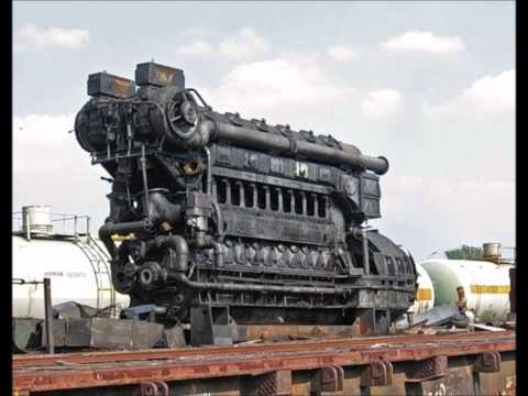 1 Hour Relaxing Engine Sound (diesel electric locomotive 2TE
