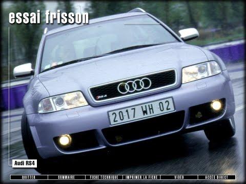 Audi RS4 (B5) (Test - Essai - Reportage) FR 2000