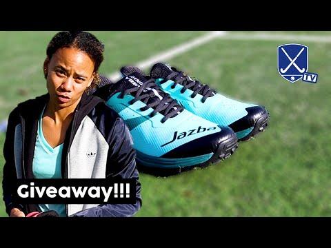 Jazba Field Hockey Shoes + Giveaway! | Hockey Heroes TV