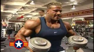Jay Cutler   Shoulders  u0026 Arms Workout For 2001 Mr Olympia 2