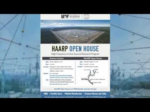HAARP open house + BBQ - August 27, 2016 Public Invite - Link below