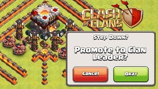 IF YOU WIN YOU GET CLAN LEADER | Clash of Clans | Clan Troll Base Funny Moments