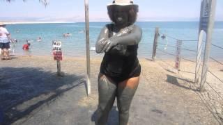 GloZell Twerking At The Dead Sea - GloZell
