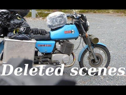 Mit der MZ zum Nordkapp - Deleted scenes
