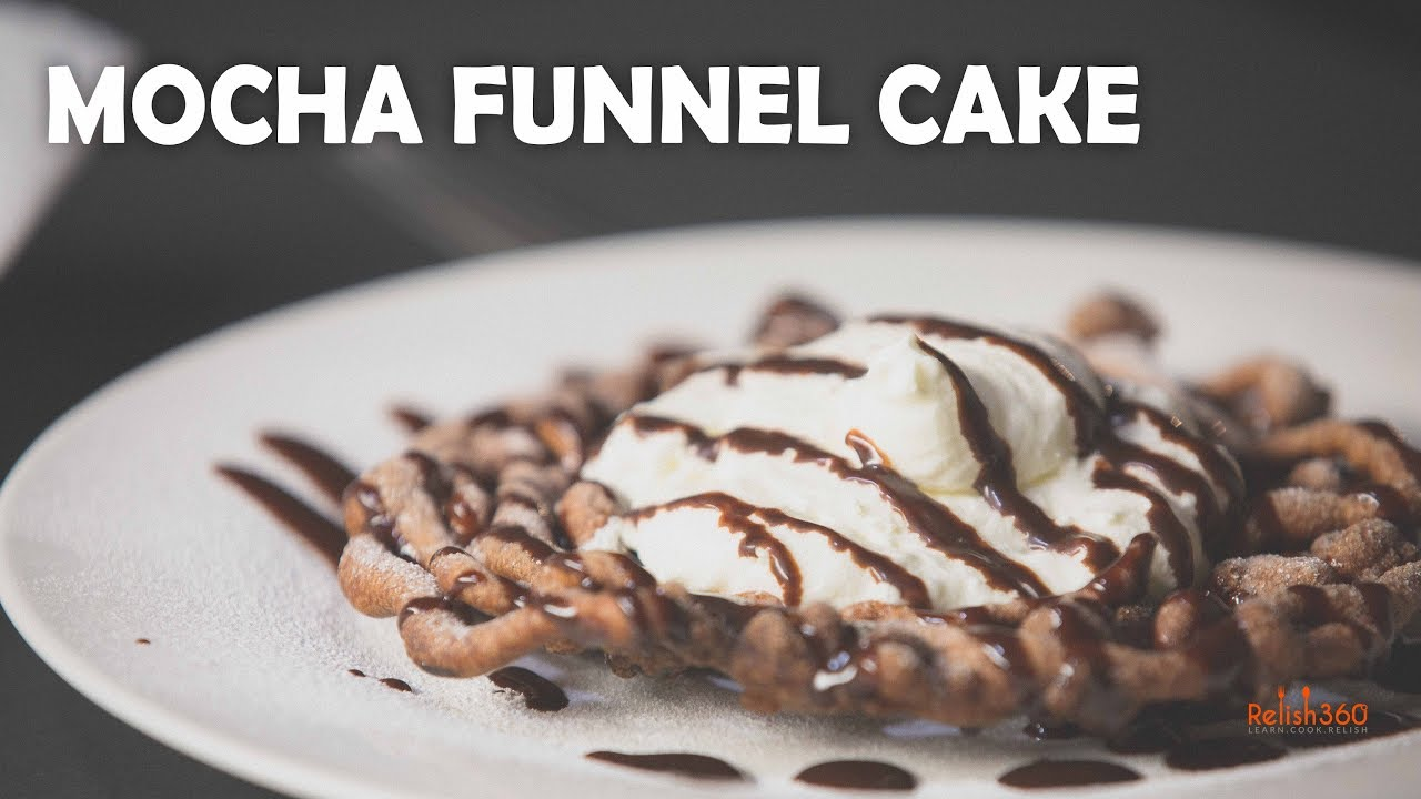 How To Make A Funnel Cake Youtube
