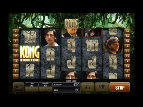 Как играть в автомат Кинг-Конг