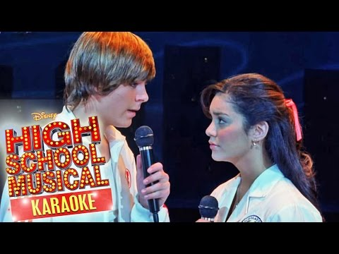High School Musical - Breaking free (Karaoke Version) | Disney Channel Songs