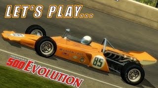 Let's Play: McLAREN AT INDY [Indianapolis 500 Evolution]