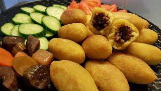 كبة الرز المقليه كبة التمن العراقيه  اسهل طريقة لعمل كبة حلب جرب ثم احكم اكلات رمضان